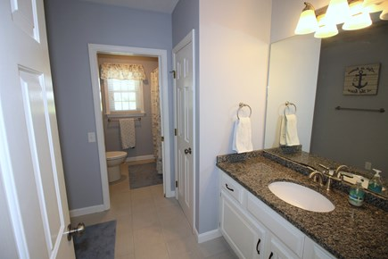 East Dennis Cape Cod vacation rental - Guest bathroom main level
