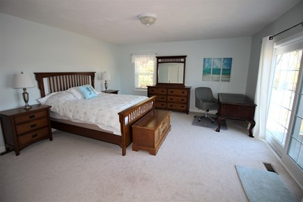 East Dennis Cape Cod vacation rental - Primary w/slider to deck & private outside shower