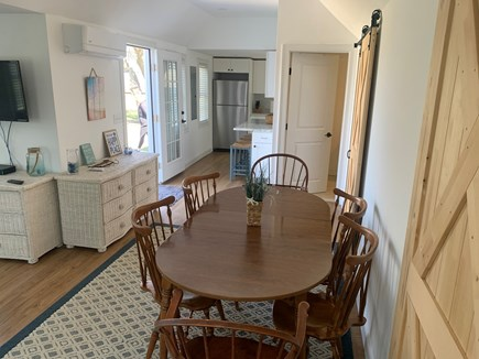 Barnstable Cape Cod vacation rental - Dining area seats 6
