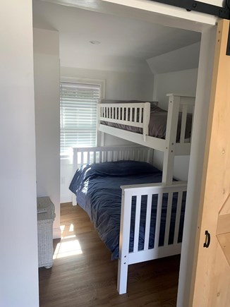 Barnstable Cape Cod vacation rental - Bedroom with twin and full bunk