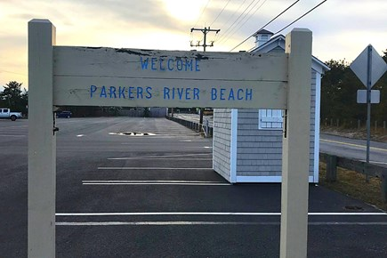 South Yarmouth Cape Cod vacation rental - Parkers River Beach