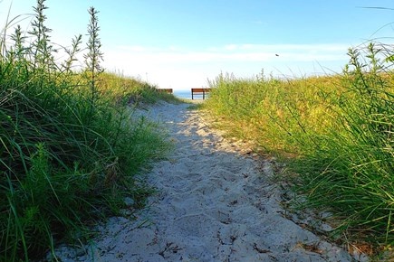 South Yarmouth Cape Cod vacation rental - Path to beach