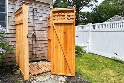 South Yarmouth Cape Cod vacation rental - Must-Have Outdoor Shower