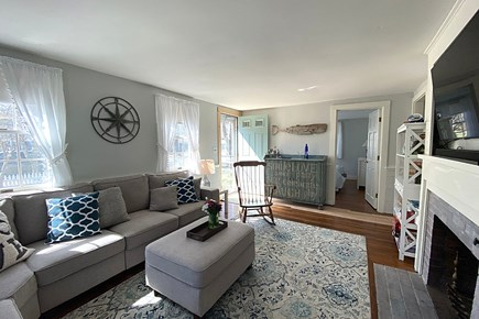 South Yarmouth Cape Cod vacation rental - Living room with TV