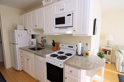 Truro Cape Cod vacation rental - Nicely equipped galley kitchen