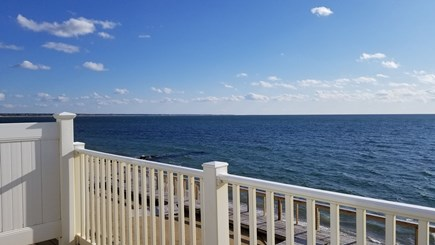 Truro Cape Cod vacation rental - Balcony deck with panoramic water views