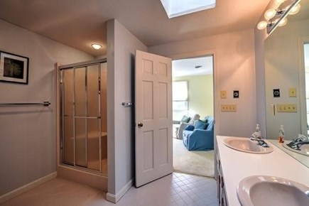 Barnstable, Centerville Cape Cod vacation rental - Master Bath with Jacuzzi