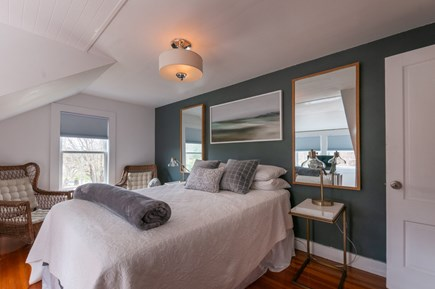 Wareham MA vacation rental - 2nd Floor Bedroom with Queen & sitting area.