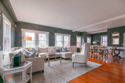 Wareham MA vacation rental - Open Living/Dining area.