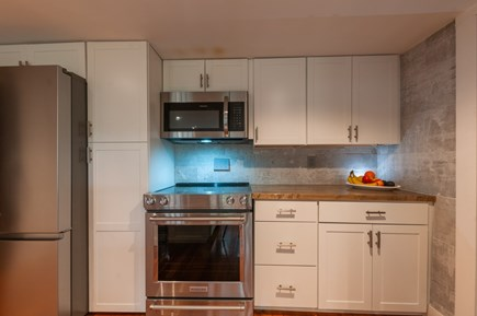 Wareham MA vacation rental - Fully equipped Kitchen with stainless appliances.