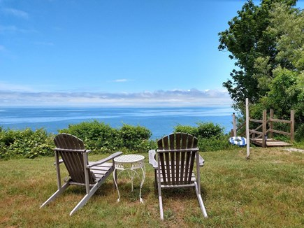 Brewster Cape Cod vacation rental - View from your living room and beach stairs