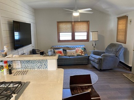 Dennis Cape Cod vacation rental - Living room with large flat screen TV