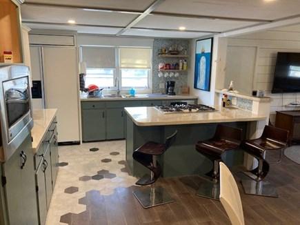 Dennis Cape Cod vacation rental - Nice big kitchen with breakfast bar