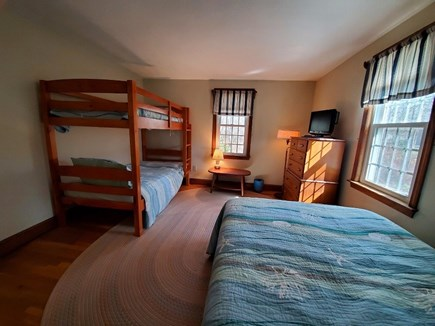 Dennis Cape Cod vacation rental - Bedroom 2 with 1 full and bunk beds