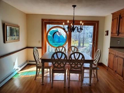 Dennis Cape Cod vacation rental - Dining room with sliders to patio