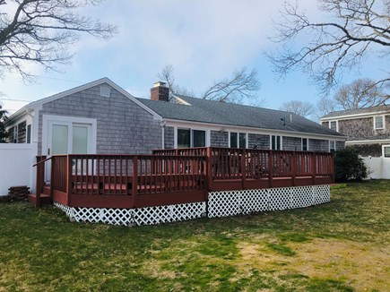West Yarmouth Cape Cod vacation rental - Two tier deck with grill, table and chairs