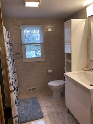 West Yarmouth Cape Cod vacation rental - Full bathroom with handicap accessible shower