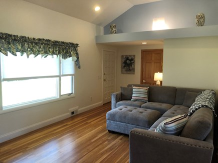 West Yarmouth Cape Cod vacation rental - Cozy living room with brand new L shaped couch