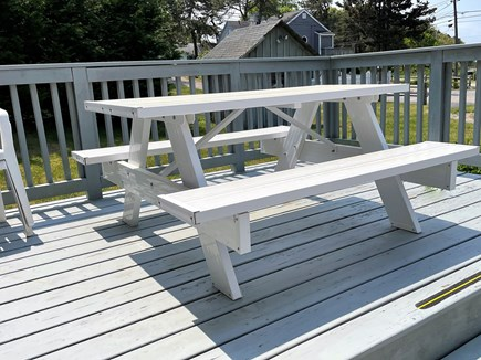 Barnstable Cape Cod vacation rental - Private deck