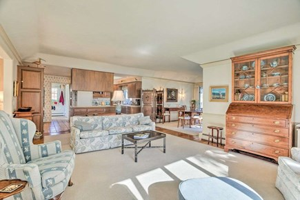 Orleans Cape Cod vacation rental - Sitting Room (view into kitchen)