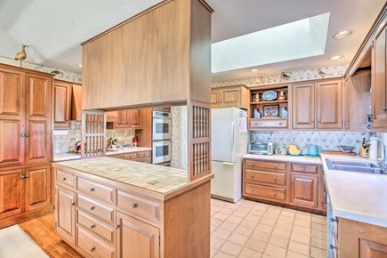 Orleans Cape Cod vacation rental - Kitchen with skylight, tons of counterspace
