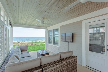 Falmouth Cape Cod vacation rental - Outdoor covered porch