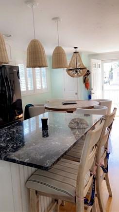 Dennis, Swan River Cape Cod vacation rental - Kitchen with island