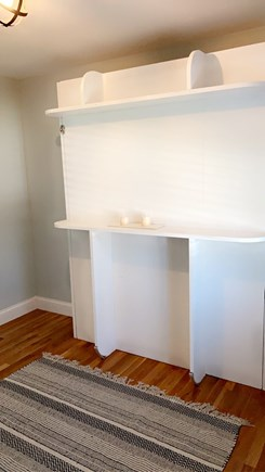 Dennis, Swan River Cape Cod vacation rental - Queen murphy bed pull down on first floor