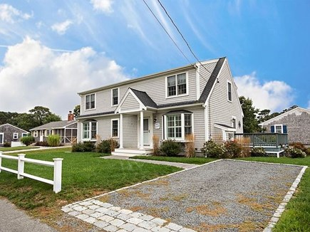 Dennis, Swan River Cape Cod vacation rental - Two separate driveways