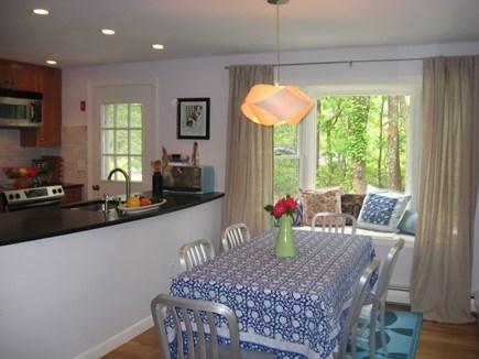 Wellfleet Cape Cod vacation rental - Dining with view of bird feeders