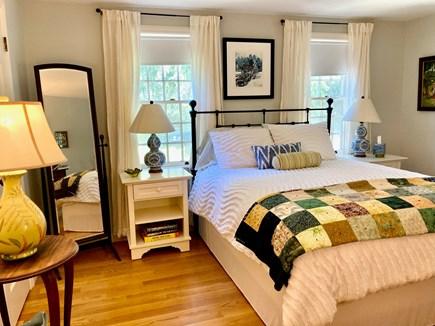 Wellfleet Cape Cod vacation rental - Queen bed and big closet in bedrm #1 (w/desk & DWR office chair)