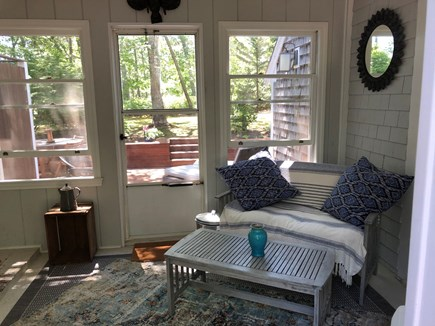 Wellfleet Cape Cod vacation rental - Screened-in porch also has 2 big, comfy chairs