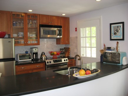 Wellfleet Cape Cod vacation rental - Granite counters in new kitchen
