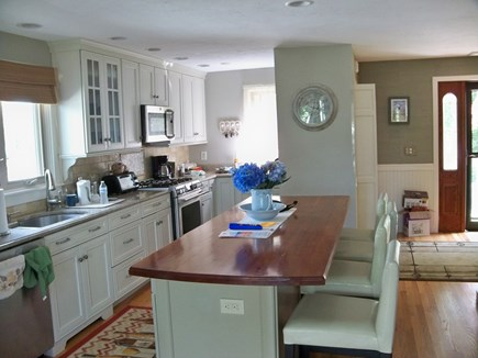Plymouth MA vacation rental - Modern chefs kitchen with custom island