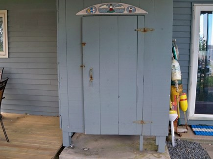 Plymouth MA vacation rental - Outdoor shower with hot and cold water