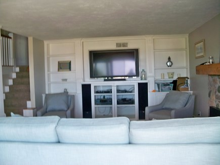 Plymouth MA vacation rental - Big screen TV , DVD player, stereo