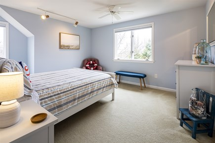 Orleans Cape Cod vacation rental - Upper Level Bedroom with Queen and Water Views