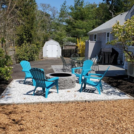 Dennis Cape Cod vacation rental - Relax by the Fire pit after a day at the Beach!