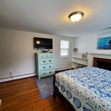 Dennis Cape Cod vacation rental - Primary Bedroom with TV