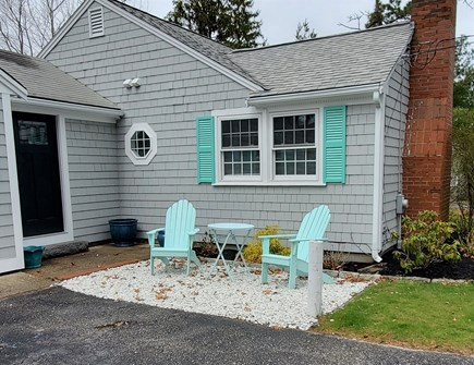 Dennis Cape Cod vacation rental - Outdoor seating area; just one of two!
