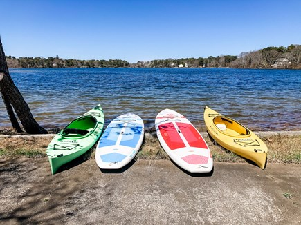 West Dennis Cape Cod vacation rental - 2 kayaks, 2 paddleboards for renter's use