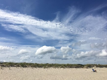 Chatham Cape Cod vacation rental - Spectacular clouds and scene at Nauset