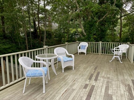 Chatham Cape Cod vacation rental - Expansive deck.  Wonderful for having coffee in the a.m./grilling