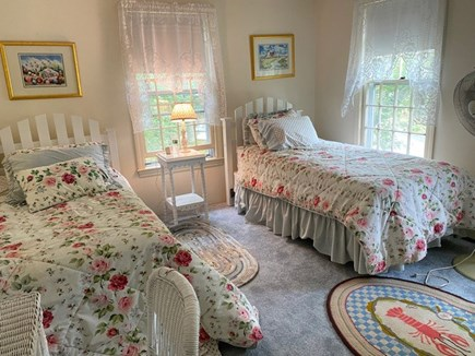 Chatham Cape Cod vacation rental - Brightly and well appointed spacious bedroom with pretty view.