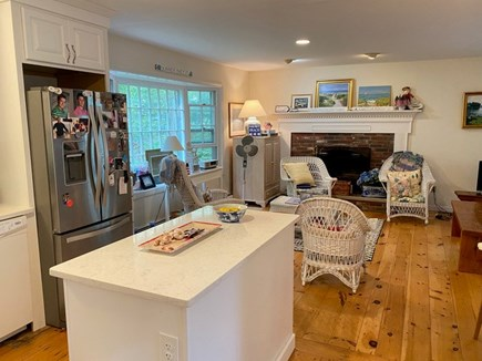 Chatham Cape Cod vacation rental - Pretty Side view of kitchen