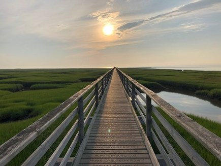 Yarmouth Port Cape Cod vacation rental - Sunsets are beautiful at Gray's Beach Boardwalk in Yarmouth Port