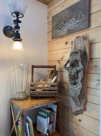 Eastham Cape Cod vacation rental - Antique ships lighting and figurehead found in Anegada, BVI