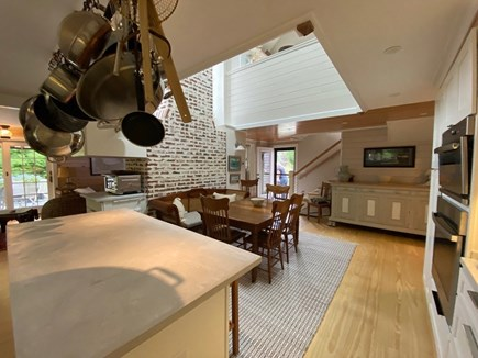 Eastham Cape Cod vacation rental - Kitchen looking back toward the front door