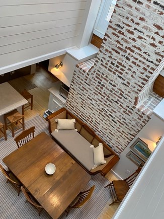 Eastham Cape Cod vacation rental - Looking down into the dining area