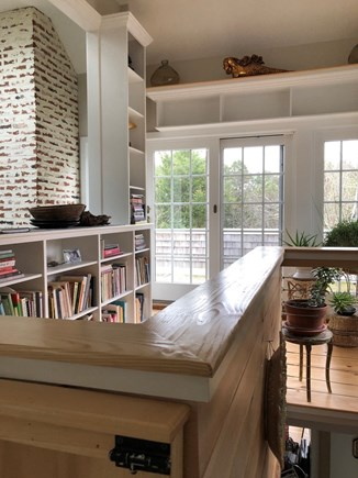 Eastham Cape Cod vacation rental - example of custom features throughout, reading nook